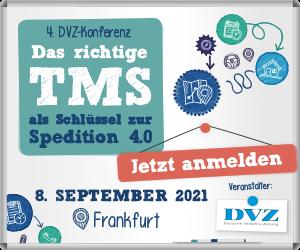 4. DVZ-Konferenz - Das richtige TMS als Schlüssel zur Spedition 4.0 - präsenz