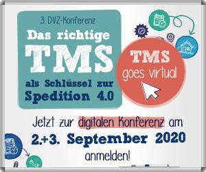 Digitale DVZ-Konferenz - TMS als Schlüssel zur Spedition 4.0