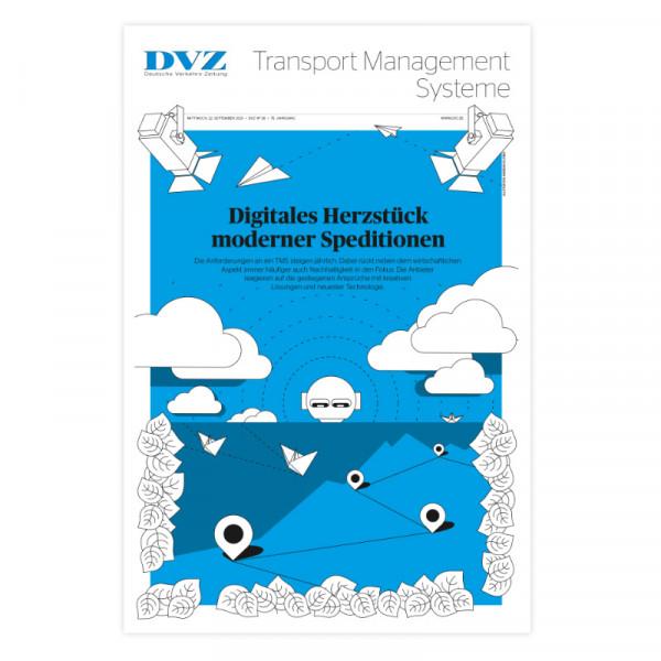 DVZ Themenheft: TMS (Transport Management Systeme) 2021