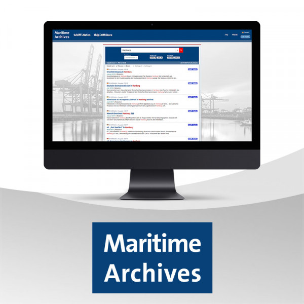 Maritime Archives Basic Jahresabonnement