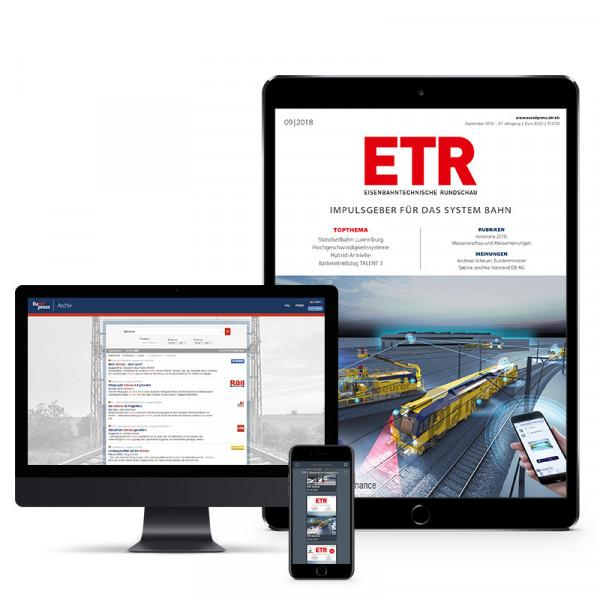 ETR – Eisenbahntechnische Rundschau