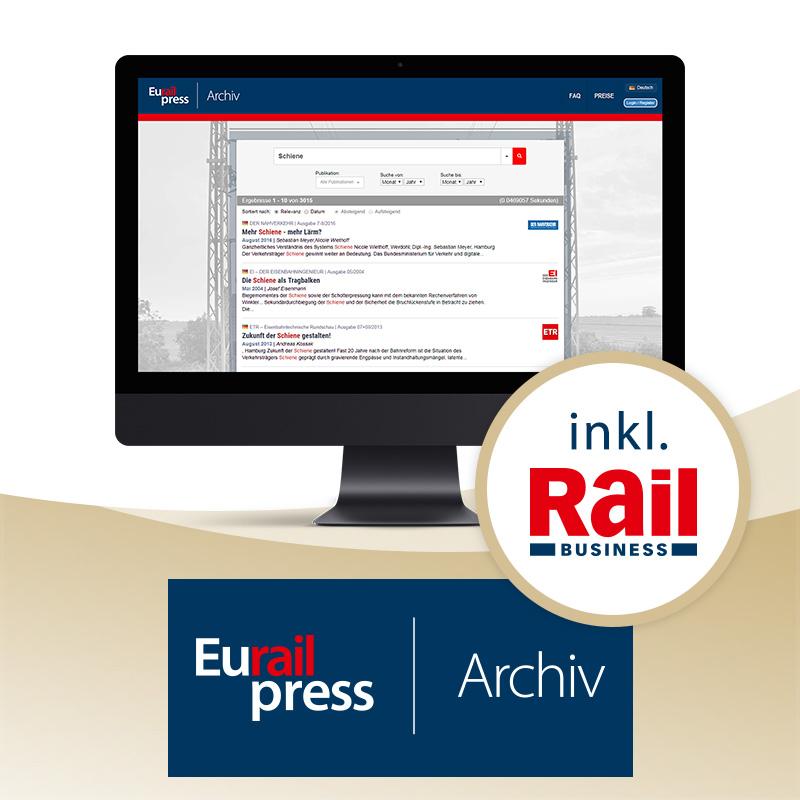 Eurailpress-Archiv Premium Jahresabonnement