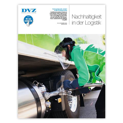 DVZ Magazin: Nachhaltigkeit in der Logistik