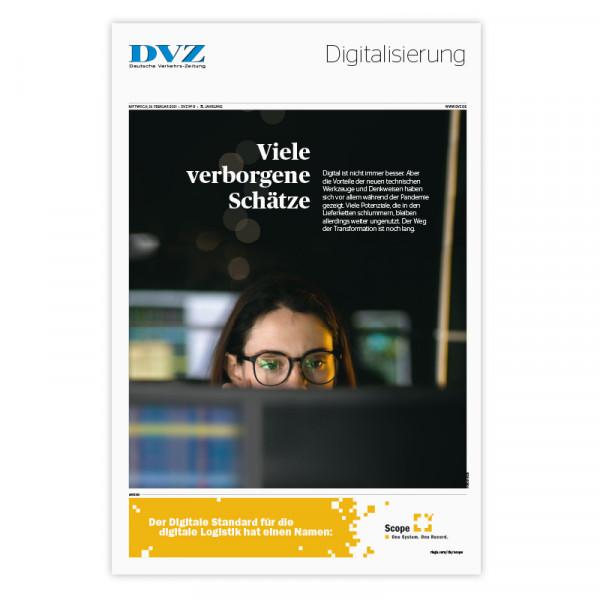 DVZ Themenheft: Digitalisierung 2021