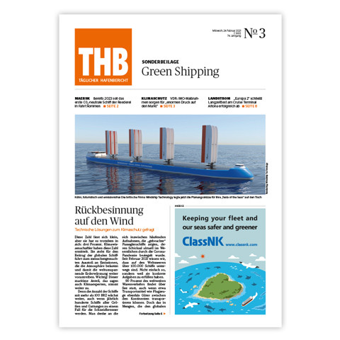 THB Themenheft: Green Shipping 2021