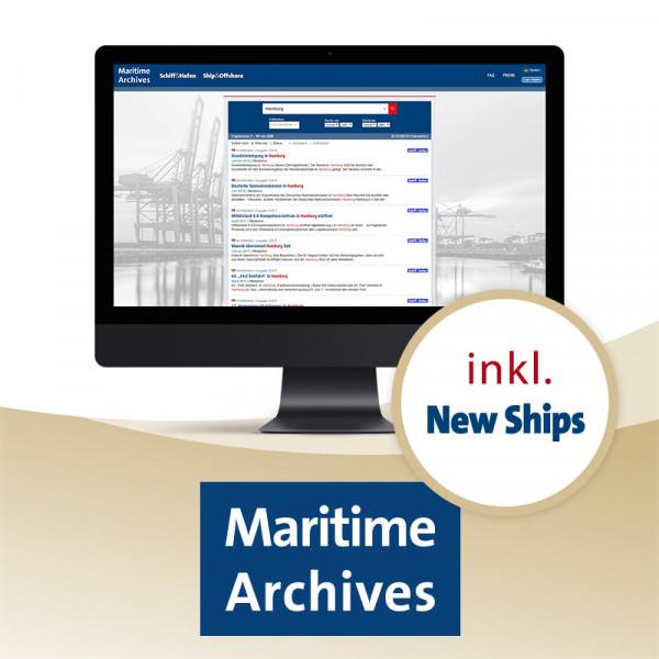 Maritime Archives Premium Jahresabonnement