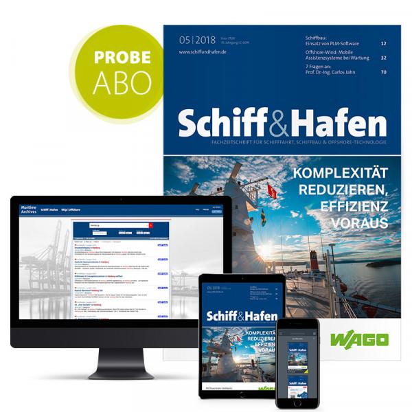 Schiff&Hafen Probeabonnement