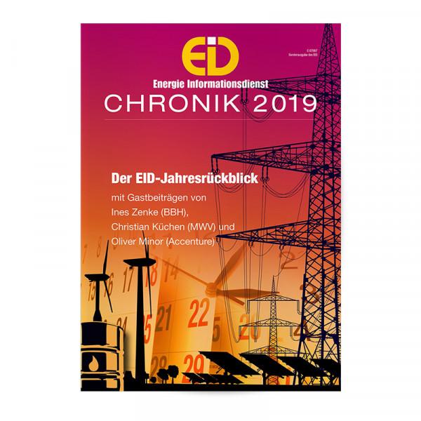 EID Chronik: Das Energiejahr 2019