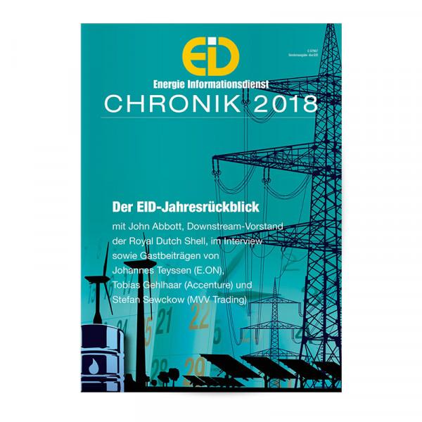 EID Chronik: Das Energiejahr 2018