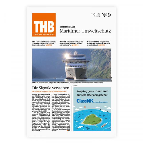 THB Themenheft: Maritimer Umweltschutz