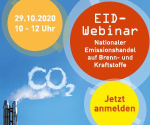 EID-Webinar Nationaler Emissionshandel auf Brenn- und Kraftstoffe