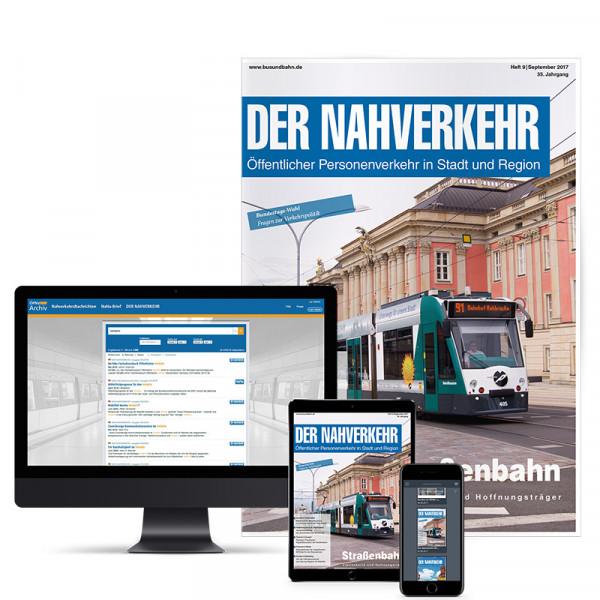 DER NAHVERKEHR -Öffentlicher Personenverkehr in Stadt und Region