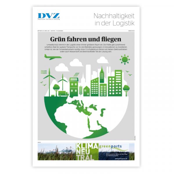 DVZ Themenheft: Nachhaltigkeit in der Logistik
