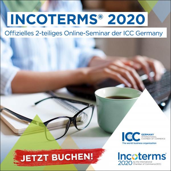 Incoterms® 2020 für Fortgeschrittene - Online-Seminar