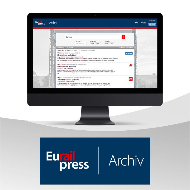 Eurailpress-Archiv Basic Jahresabonnement