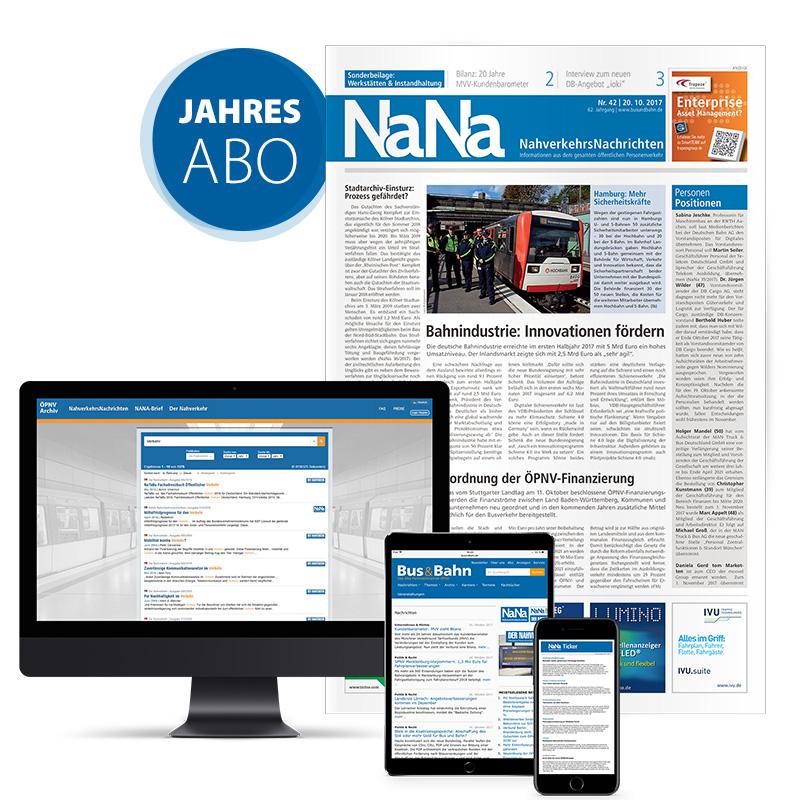 NaNa Nahverkehrs-Nachrichten Jahresabonnement