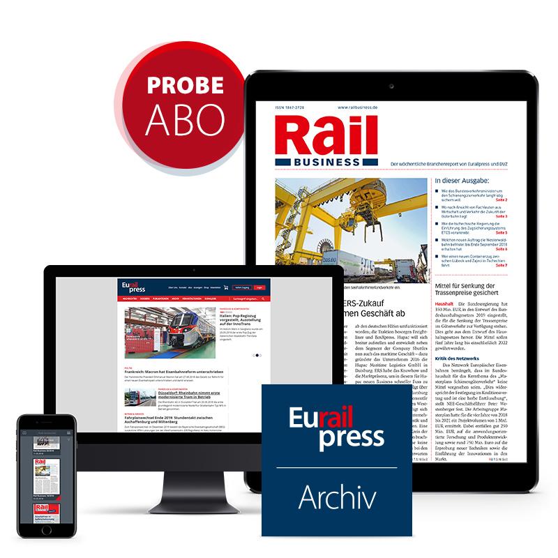 Rail Business Probeabonnement (digital)