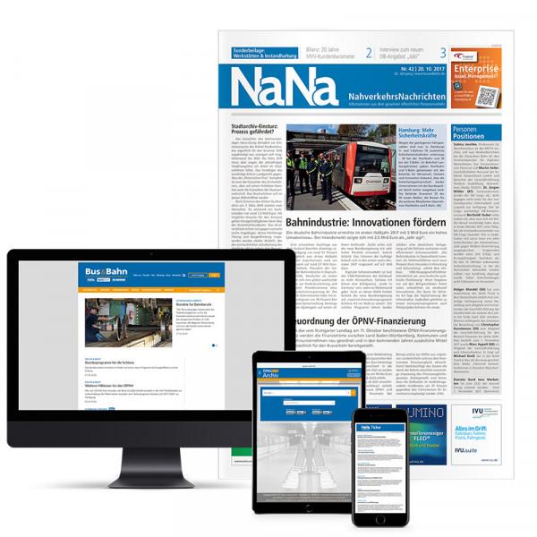 NaNa Nahverkehrs-Nachrichten Abonnement