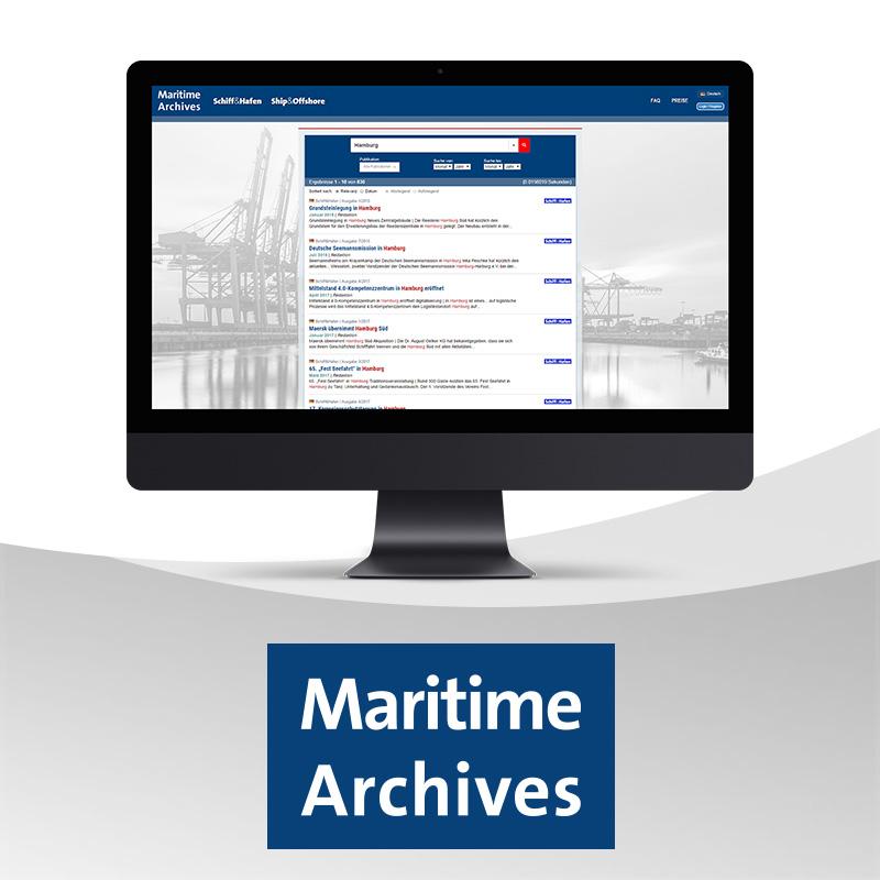 Maritime Archives Basic Jahresabonnement