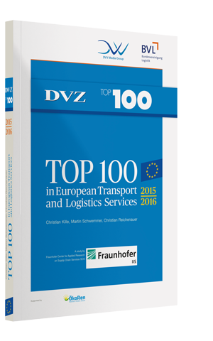 TOP 100 in European Transport and Logistics Services 2015/2016 (incl. e-Book)