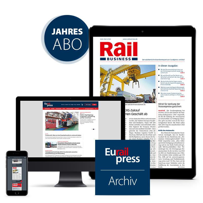 Rail Business Jahresabonnement (digital)
