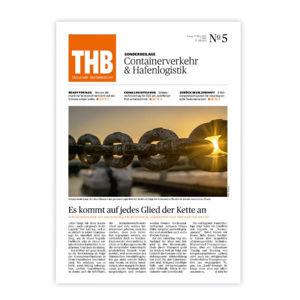 THB Themenheft: Containerverkehre & Hafenlogistik