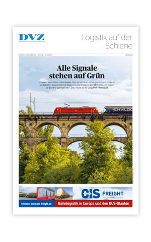 DVZ Themenheft: Logistik auf der Schiene