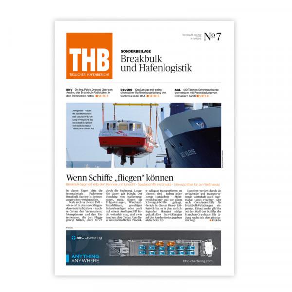 THB Themenheft: Breakbulk und Hafenlogistik