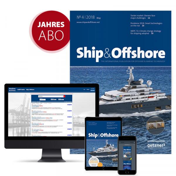 Ship&Offshore Jahresabonnement