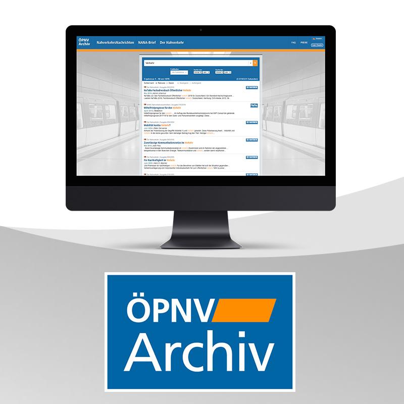 ÖPNV-Archiv Basic Jahresabonnement