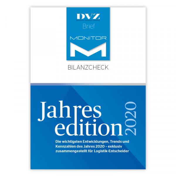 DVZ-Brief Monitor Bilanzcheck Jahresedition 2020