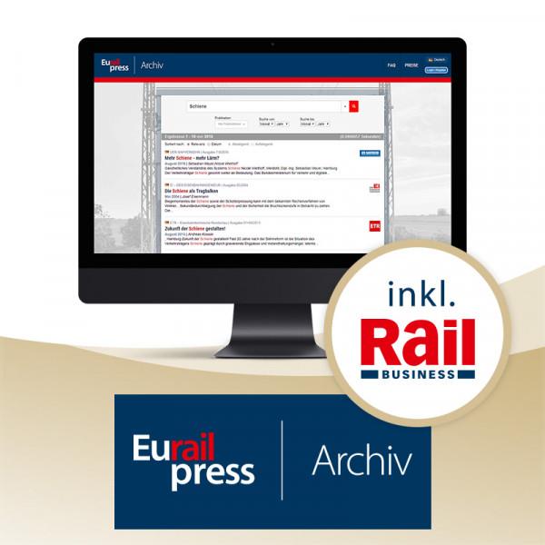 Eurailpress Archiv Premium-Zugang
