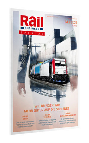 Rail Business Spezial Güterbahnen 2021