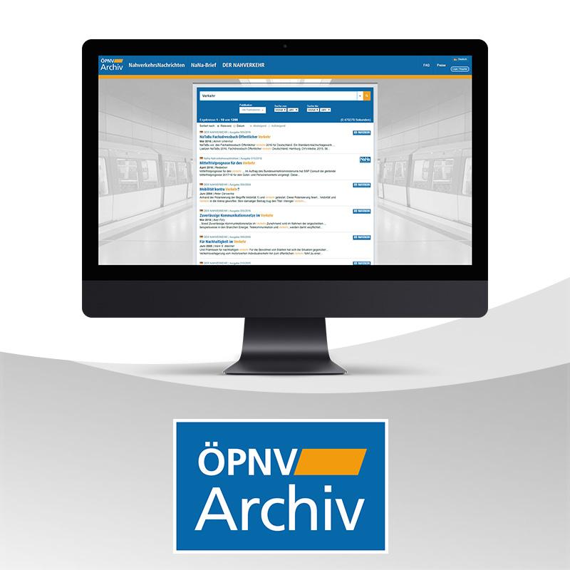 ÖPNV-Archiv – Jetzt 30 Tage testen!