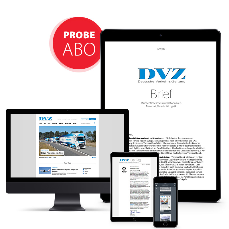 DVZ-Brief Probeabonnement