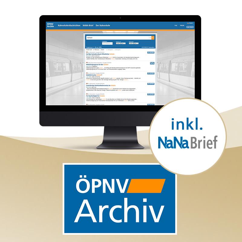 ÖPNV-Archiv 30 Tage Premium-Zugang