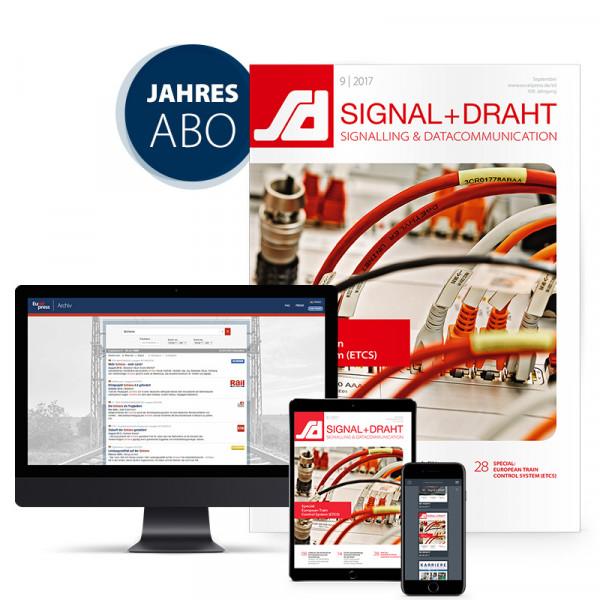 Signal+Draht Jahresabonnement