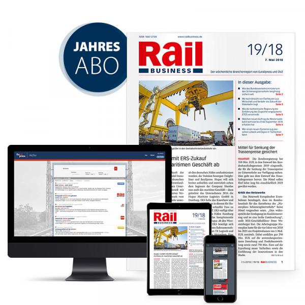 Rail Business Jahresabonnement