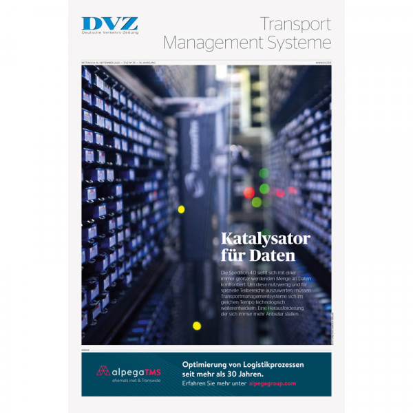 DVZ Themenheft: TMS (Transport Management Systeme)