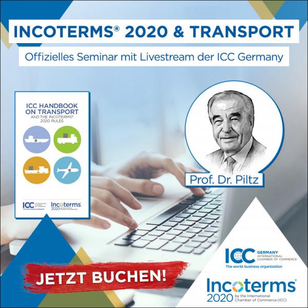 Incoterms® 2020 & Transport Seminar mit Livestream