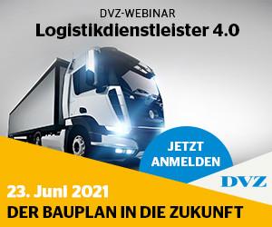 DVZ-Webinar Logistikdienstleister 4.0 - Der Bauplan in die Zukunft