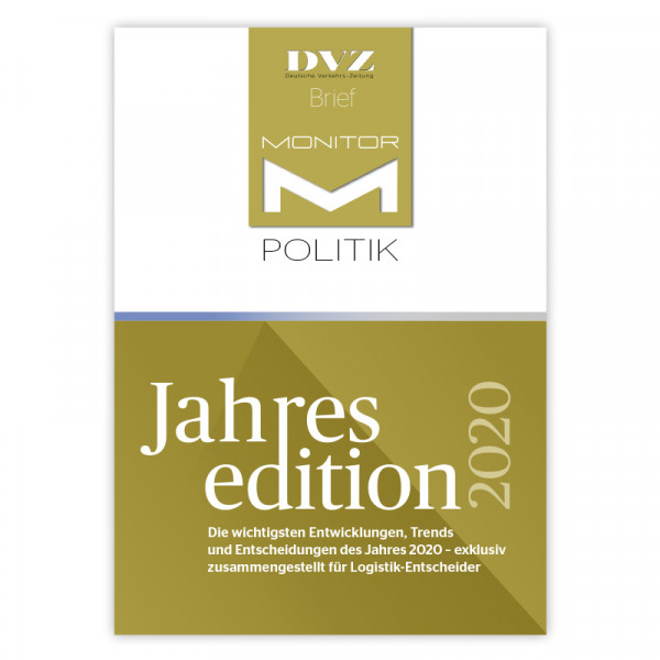 DVZ-Brief Monitor Politik Jahresedition 2020
