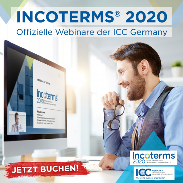 Incoterms® 2020 - Webinar (inkl. Live Chat)