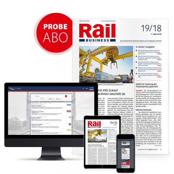 Rail Business Probeabonnement