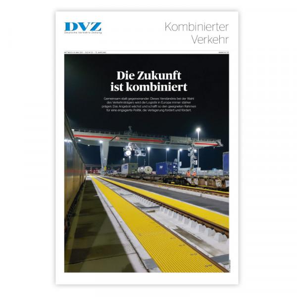 DVZ Themenheft: Kombinierter Verkehr 2021