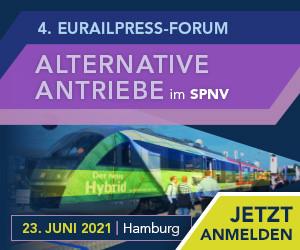 4. Eurailpress Forum - Alternative Antriebe im SPNV (virtuelle Teilnahme)